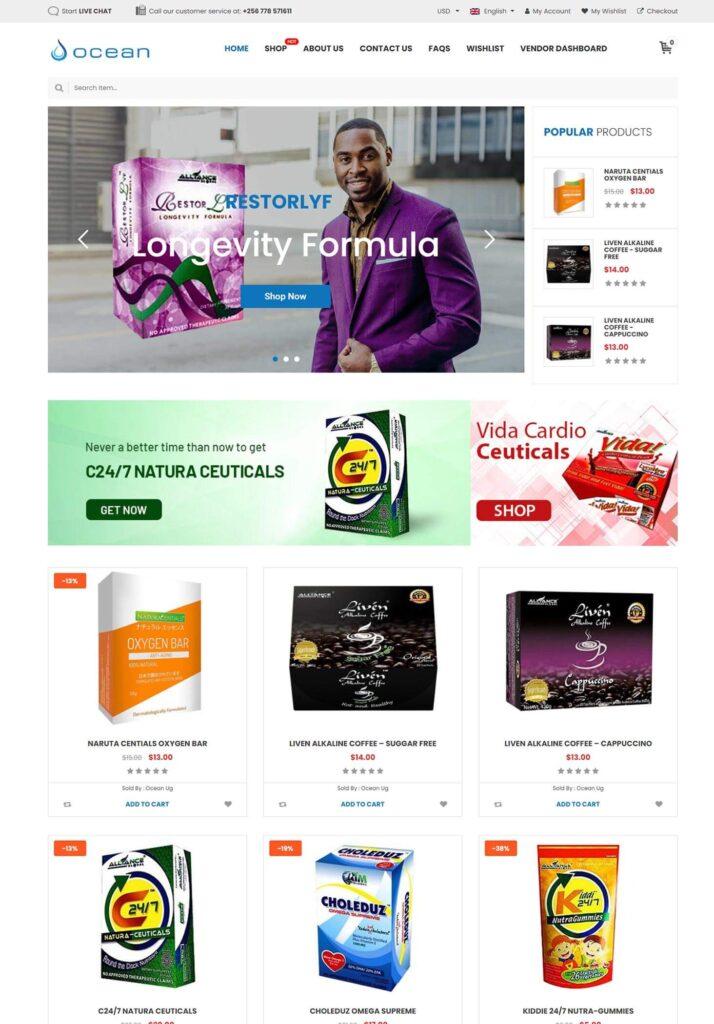 Ocean Ug Website - AIM Global Products