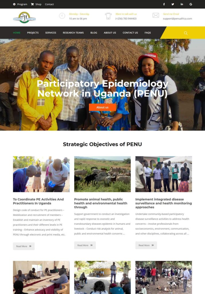 Participatory Epidemiology Network for Animal and Public Health - PENU Africa