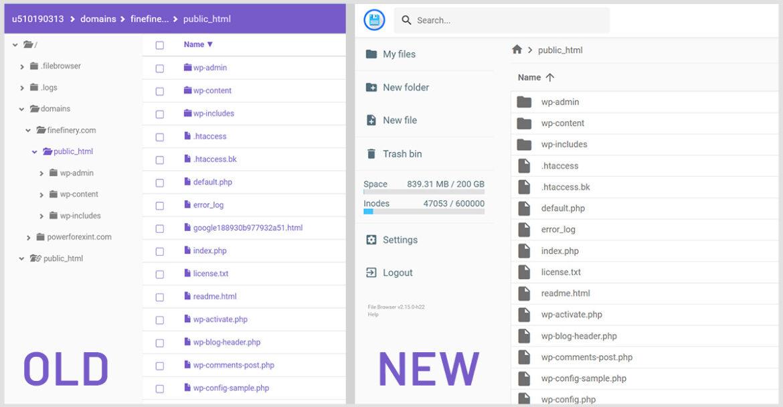 Hontinger New File Manager